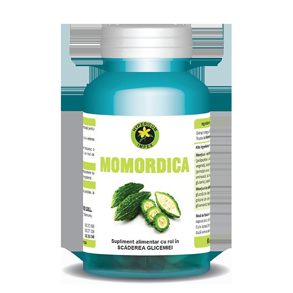 Capsule Momordica - Suplimente Alimentare - Hypericum Impex