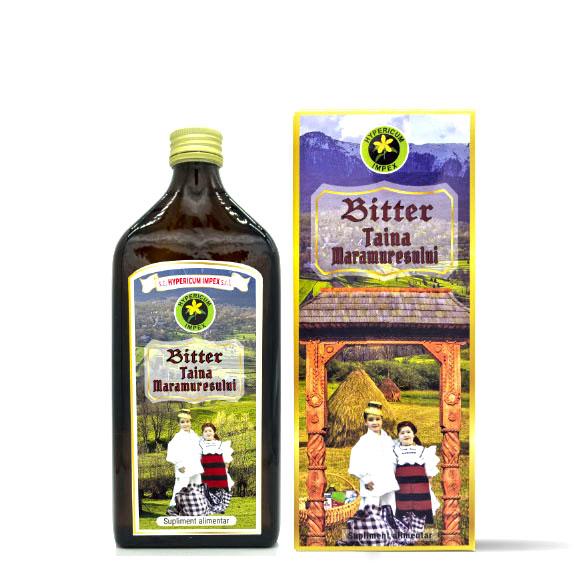 Bitter Taina Maramuresului 500ml - Supliment Alimentar - Hypericum Impex