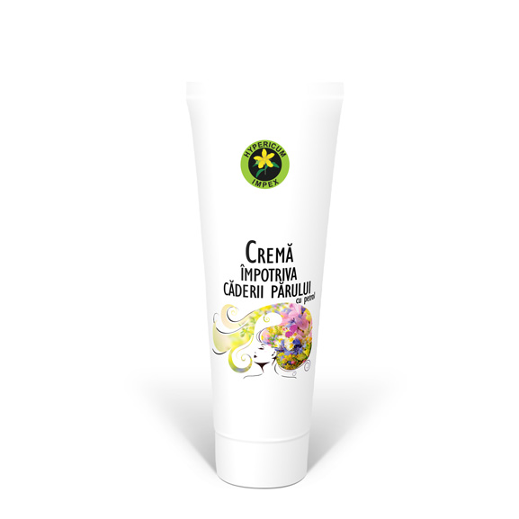 Crema impotriva caderii parului 200 ml - Cosmetice - Creme Hypericum Impex