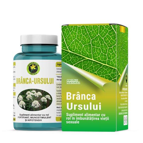 Capsule Branca Ursului - Vitamine si Suplimente Naturale - Produs Hypericum Impex