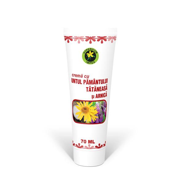 Crema cu Untul Pamantului Tataneasa si Arnica 70 ml - Cosmetice - Creme Hypericum Impex