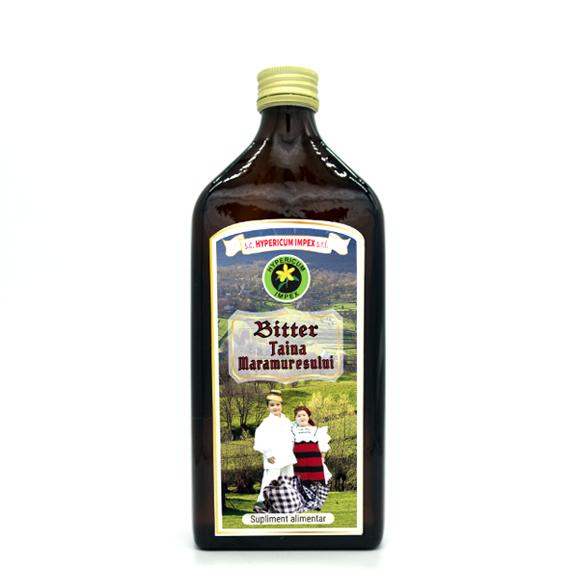 Bitter Taina Maramuresului 500ml - sticla - Hypericum Impex