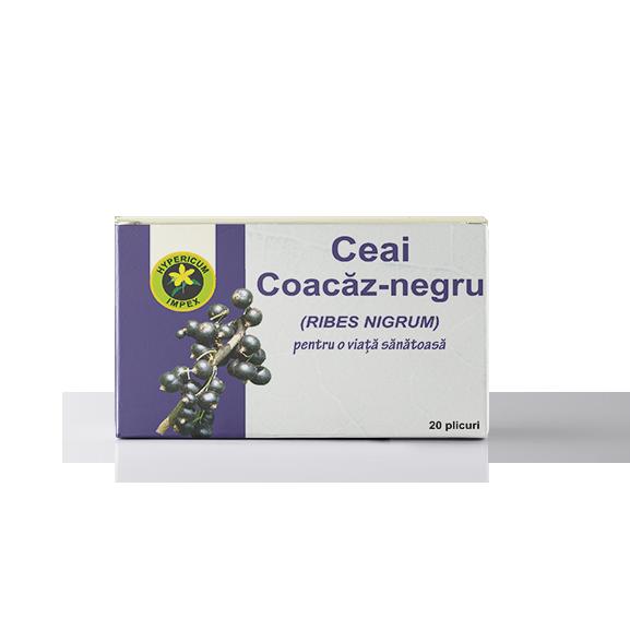 Ceai Coacaz Negru Doze - Ceaiuri Medicinale - Hypericum Impex (2)