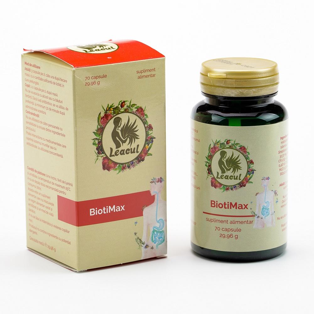 BiotiMax Leacul, 70 capsule