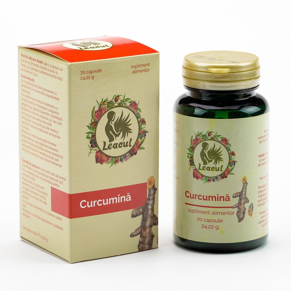 Curcumina, Leacul 70 capsule